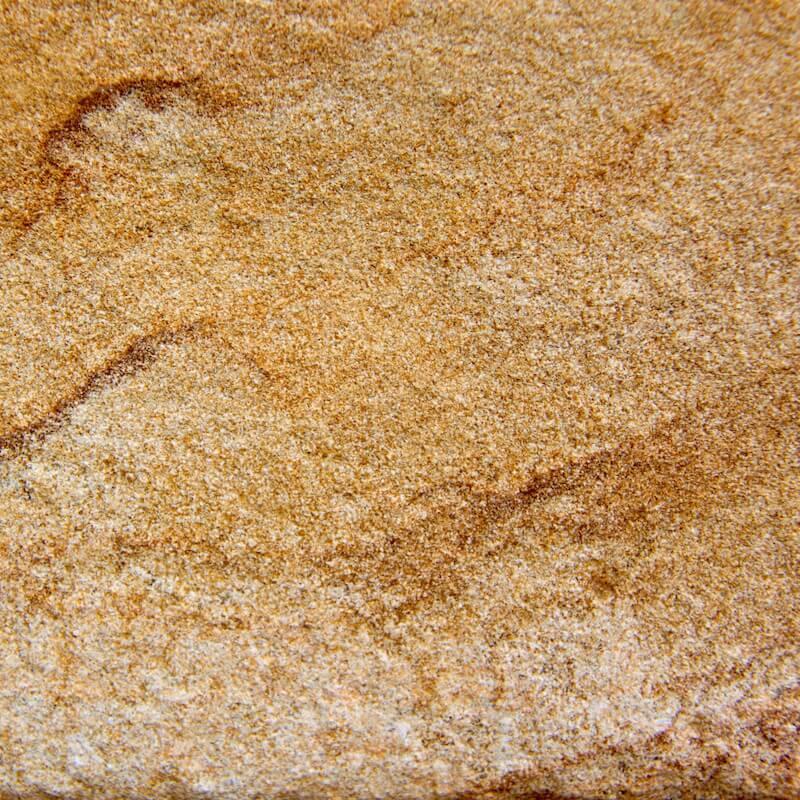 Pietra dorata sabbiata